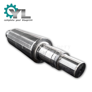 Aluminum Plant Big Forged Steel Squeeze Roll Shaft