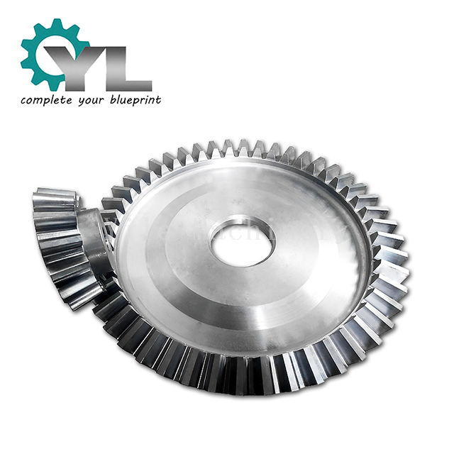 Transmission Straight Bevel Wheel Pinion Gear