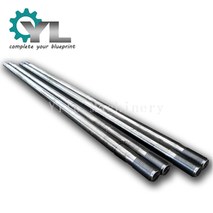 Forging Press High Strength C45 Steel Threaded Tie Rod