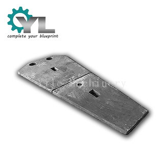 High Manganese Steel Casting Liner Plate