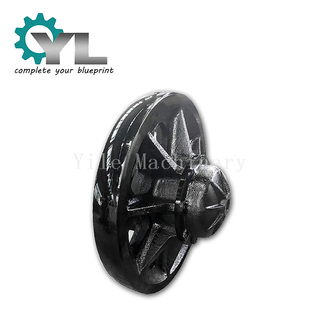 Mining Excavator Cast Steel Supporting Wheel