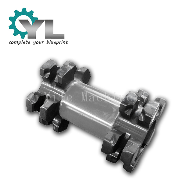 Mining Equipment Conveyor Delivery Mechanism Spare Part Double Chain Wheel