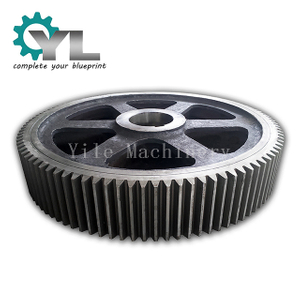 Professional CNC Machining Spur Gears Industrial 42CrNiMo Steel Spur Gear Manufacturer