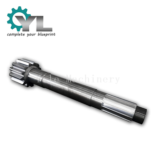 Mining Excavator Forged Alloy Steel Driving Gear Shaft