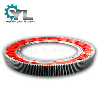 Cement Rotary Kiln Casting Segment Ring Girth Gear