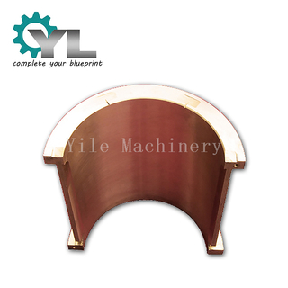 Custom Centrifugal Casting Tin Bronze Bearing Bush