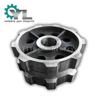 Heavy Duty Coal Industrial Conveyor Cast Iron Chain And Sprocket Mining Sprocket