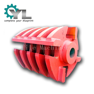 Crusher Rotating Hammer Steel Welding Frame