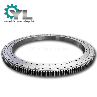 Slew Ring Outer Teeth Rotary Slewing Bearing