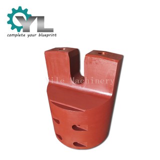 Steel Mill Casting Flat Head Roll Shaft Head