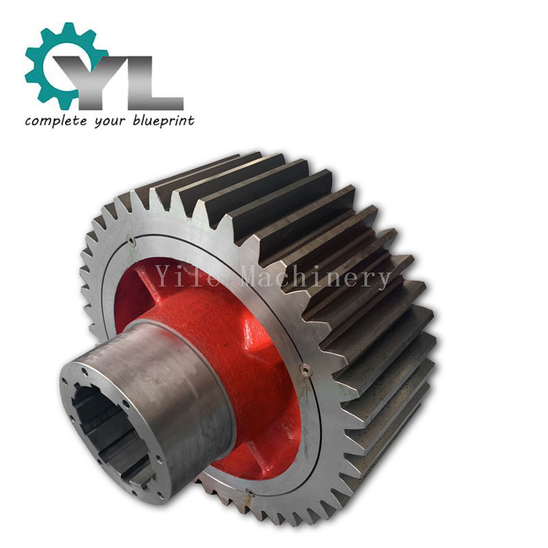 Mining Excavator Reducer Drive Spur Gears
