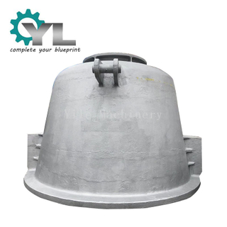 Foundry Factory Casting Spare Part Steel Processing Steel Factory Slag Pot Casting Ladle