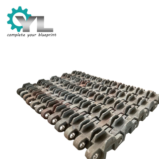 Coal Plant Dragline Iron Steel Machinery Parts Casting Track Shoeoe